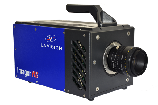 lavision extended its high speed camera portfolio to the new imager hs 4m camera model