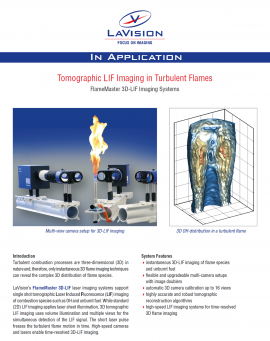 3D Flame Imaging