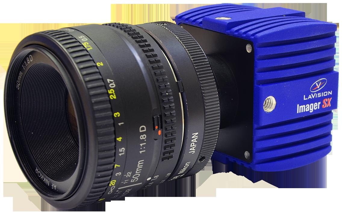 Cameras for PIV